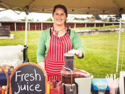 Sample delicious local produce at one of Marlborough markets