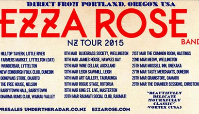 The Ezza Rose Band Tour image