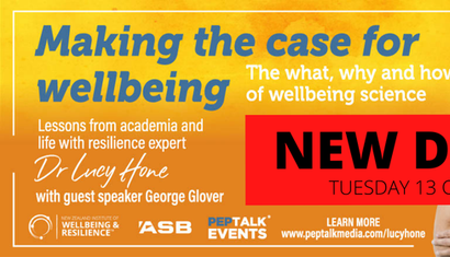 Making the Case for Wellbeing with Dr Lucy Hone image