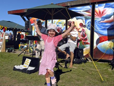 Fun for the family at Marlborough's local markets