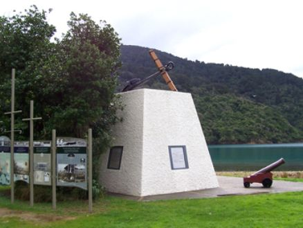 Ship Cove in the Marlborough Sounds, New Zealand