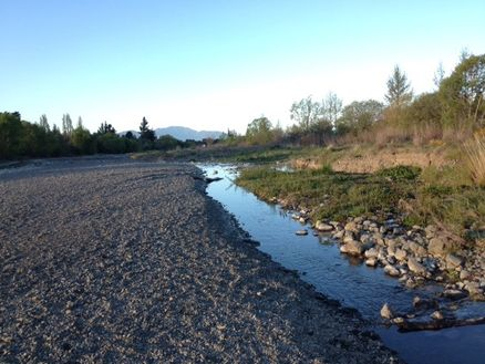 Marlborough's Taylor River in Blenheim leads to the Wither Hills Mountain Bike Park
