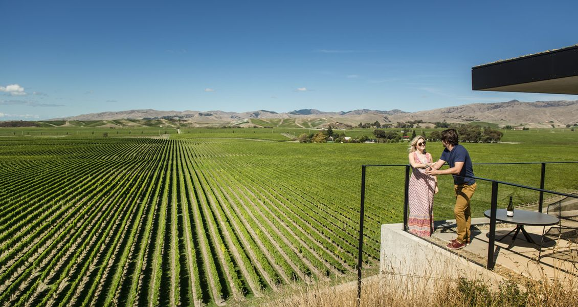 Marlborough is New Zealand's foremost wine region. Copyright Destination Marlborough