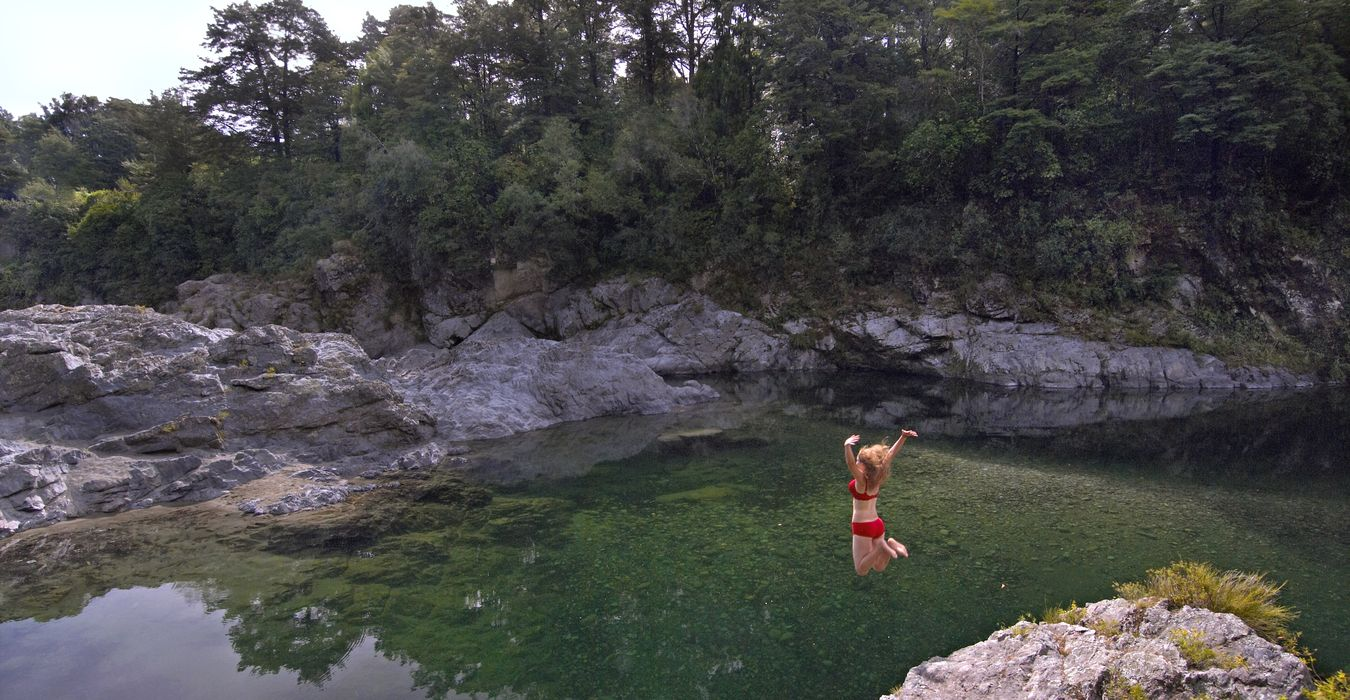 Swim in the Pelorus River