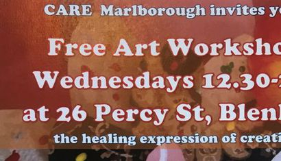 Free Art Workshops image