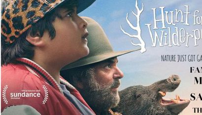 Whitehaven Outdoor Movie - Hunt For The Wilderpeople (PG) image