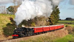 Marlborough Flyer steam train image