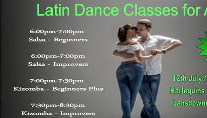 Adult Latin Dance Classes with Salsa Groove image