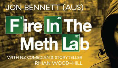 Fire in the Meth Lab image