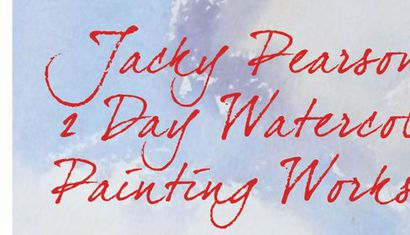 Jacky Pearson's 2 Day Watercolour Painting Workshop image