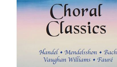 A concert of Choral Classics image