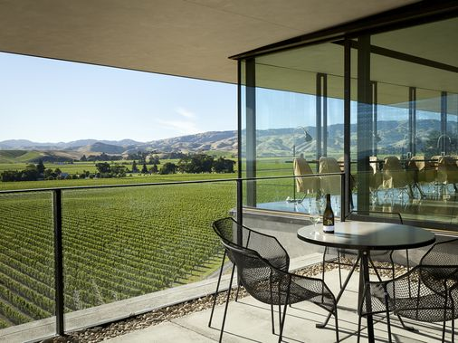Soak up the view at Brancott Estate