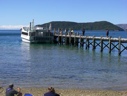 Ship Cove in the Marlborough Sounds, New Zealand. Photo: Department of Conservation