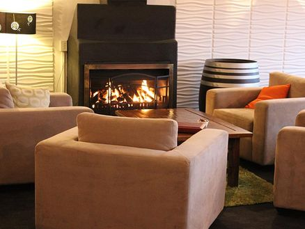 Fireplace at Marlborough Vintners Hotel