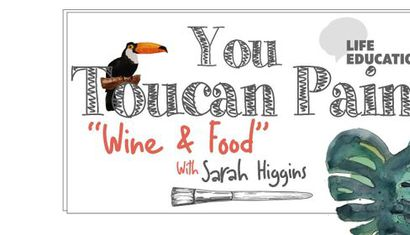 "You ""Toucan"" Paint ""Wine & Food"" image"