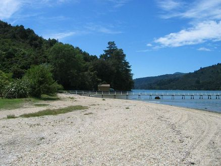 Anakiwa Beach in New Zealand's Marlborough Sounds is a brilliant spot to relax by the sea