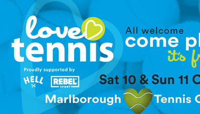 Love Tennis - Open Days - Marlborough Tennis Club image
