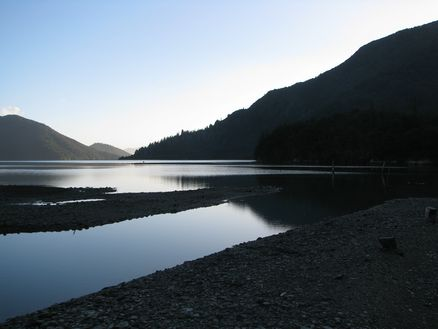 Nydia Bay in the Marlborough Sounds