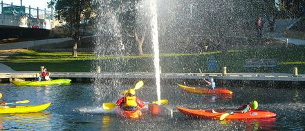 River Side Park: Community Use of Scout Canoes & Rafts image