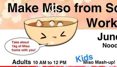 Make Miso from Scratch Workshop image