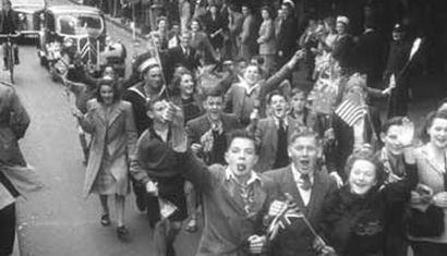 VJ Day in Marlborough 75 years ago image
