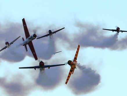 Flying displays at Classic Fighters in Marlborough. Photo: Gavin Conroy