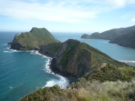 D'Urville Island, Marlborough Sounds. Photo: Peter Brady
