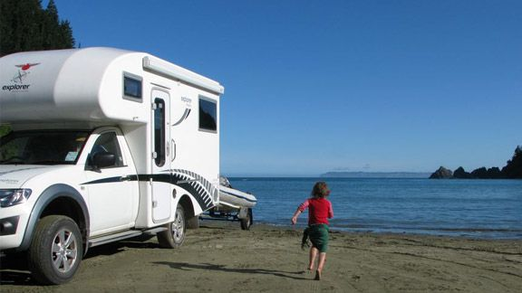 Robin Hood Bay campground