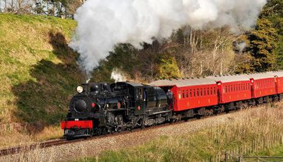 Marlborough Flyer Steam Train - Super Sunday Special image