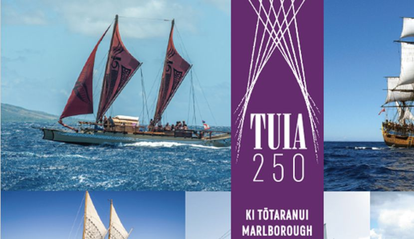 Tuia 250 ki Tōtaranui Meet, Explore, Eat, Live Music, Lights image