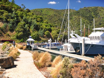 Picton Marina by Richard Briggs