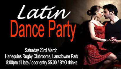 Latin Dance Party image