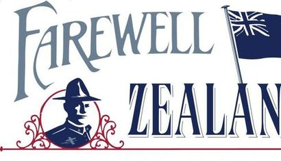 Farewell Zealandia - Forgotten Kiwi Songs of WW1 image